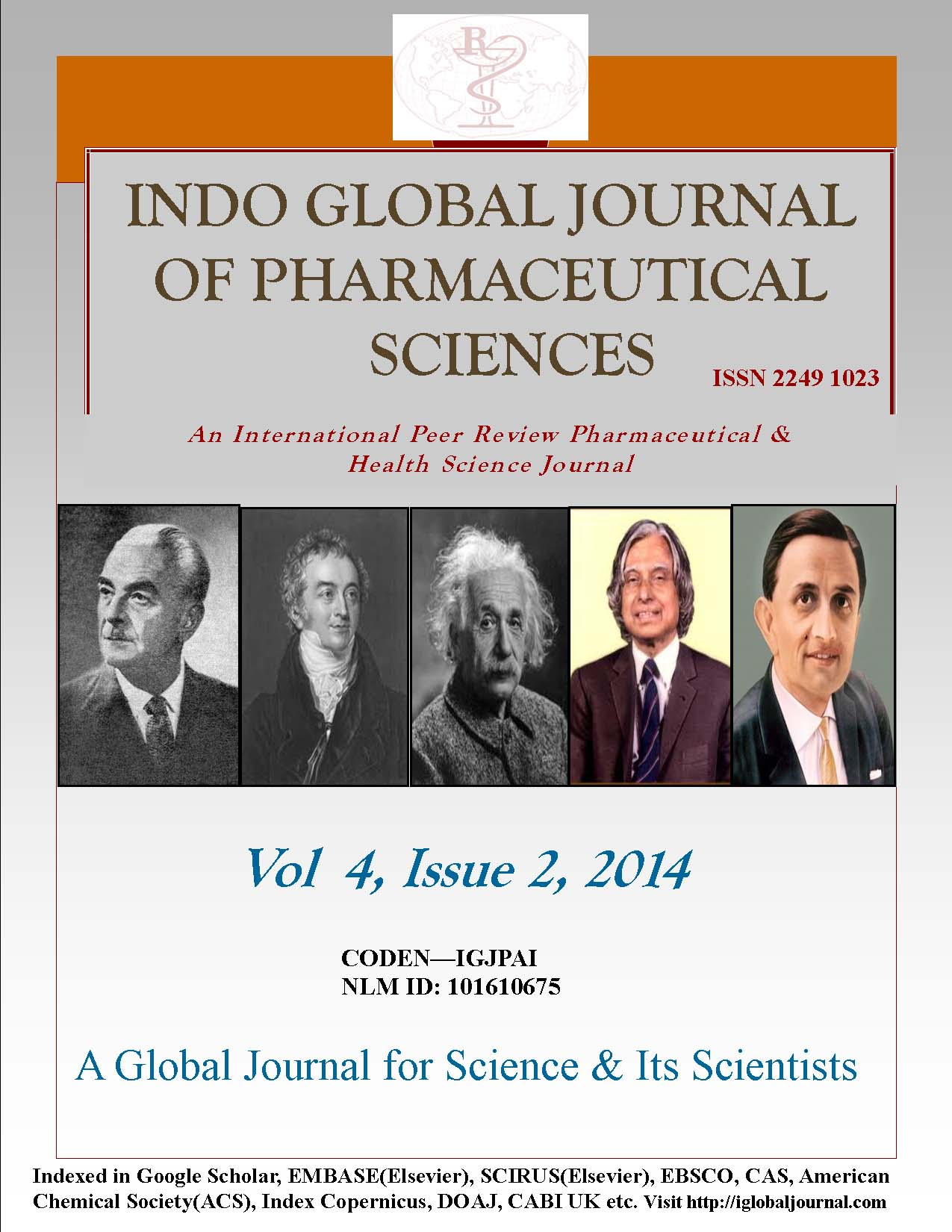 Front Page Vol 4, Issue 2, 2014